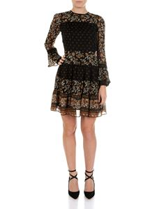 Michael Kors - Black dress with contrasting floral print