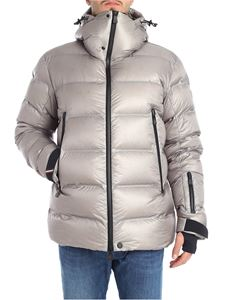 "Moncler Grenoble - Grey ""Sestriertech"" down jacket"