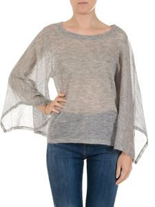 Michael Kors - Grey top with long sleeves