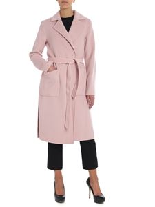 Michael Kors - Pink coat with logo