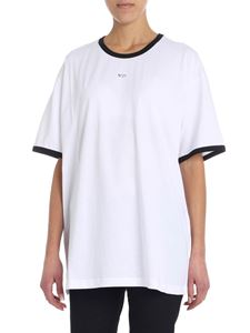 N° 21 - White overfit t-shirt with logo