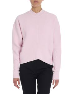 "Sportmax - Pink ""Hebrides"" tricot pullover"