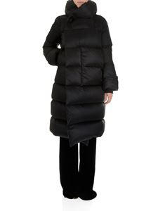Rick Owens - Black quilted down jacket