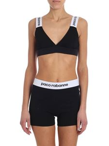 Paco Rabanne - Set with black branded top (triangle bra)