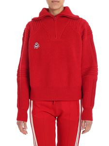 "Isabel Marant Étoile - Red ""Helly"" sweater"