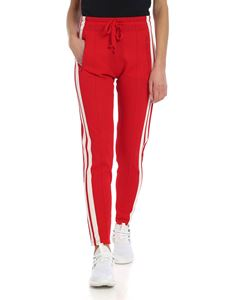 Isabel Marant Étoile - Red trousers with contrasted band