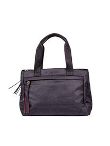 Borbonese - Black handbag in Jet Op fabric