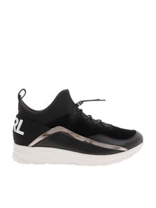 Karl Lagerfeld - Black sneakers with logo