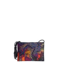 "Paul Smith - Blue ""Dream Print"" cross-body bag"