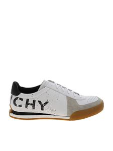 Givenchy - White sneakers with black logo