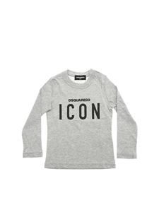 Dsquared2 - Grey T-shirt with Icon print