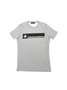 Dsquared2 - Grey T-shirt with logo print