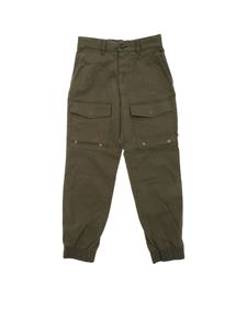 "Diesel - Military green ""Pisan"" trousers"
