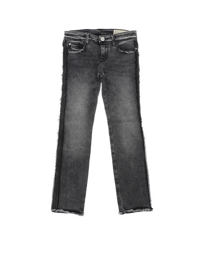 "Diesel - Black ""Skinzee-Low"" jeans"