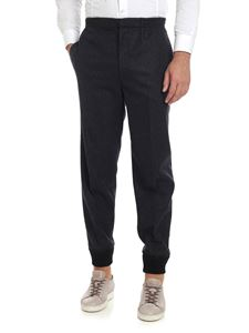 Alexander McQueen - Grey wool trousers