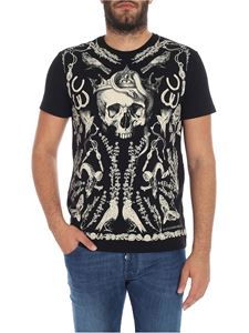 "Alexander McQueen - Black ""Treasure Skull"" T-shirt"