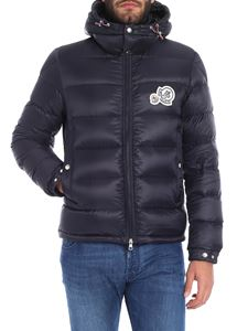 "Moncler - ""Bramant"" blue down jacket"