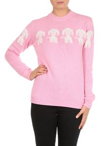 Moncler Grenoble - Pink cashmere and wool pullover
