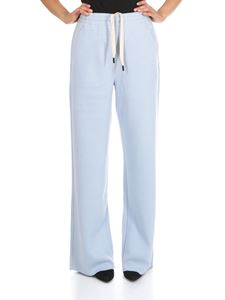 Moncler Grenoble - Light blue palazzo pants