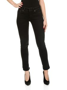 Dondup - 5 pockets black Monroe jeans