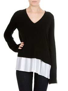 Dondup - Black V-neck pullover