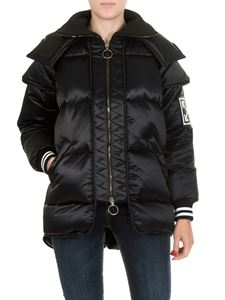 Off-White - Technic Maxi Puffer black down jacket
