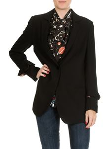 Shirtaporter - Black jacket with vent on the back