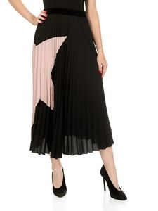 Shirtaporter - Pleated skirt with star