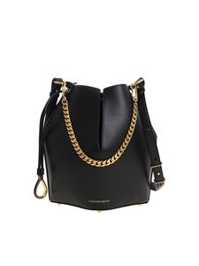 Alexander McQueen - Black bucket bag