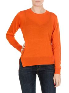Jucca - Orange virgin wool pullover