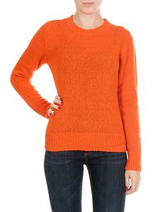 Jucca - Orange wool and cachemire pullover