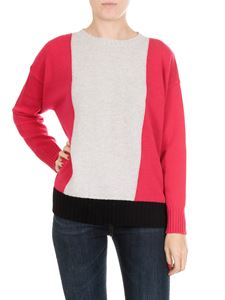 Jucca - Color-block virgin wool pullover