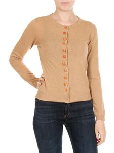 Jucca - Camel colored knitted cardigan