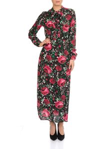 MY TWIN Twinset - Long floral printed dress
