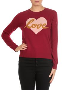 Twin-Set - Raspberry-colored wool blend pullover