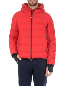 Moncler Grenoble - Lagorai red down jacket
