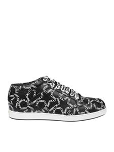 Jimmy Choo - Miami black and white sneakers