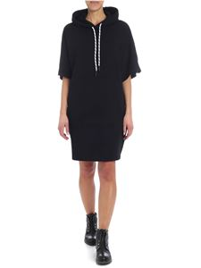 McQ Alexander Mcqueen - McQ overfit black hooded dress
