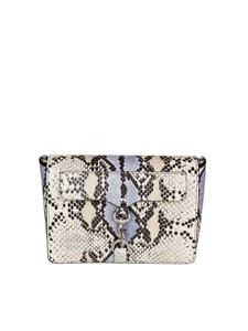 Rebecca Minkoff - Multicolor python effect crossbody bag