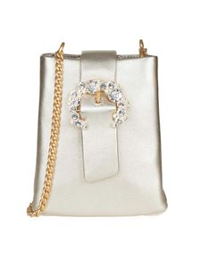 Tory Burch - Borsa Greer Phone dorata Tory Burch