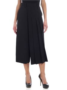 Y's Yohji Yamamoto - Y's black trousers with pleated detail