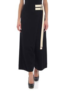 Y's Yohji Yamamoto - Y's black trousers with contrasting straps