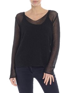 Max Mara - Fiumana black pullover with top included