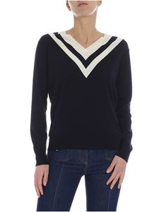 Valentino - Valentino sweater with contrasting stripes