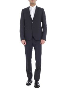 Valentino - Gray 2 buttoned lined suit