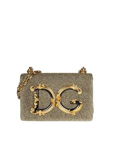 Dolce & Gabbana - DG Girls golden bag