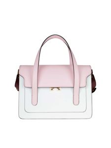 Marni - Trunk pink colorblock Marni bag