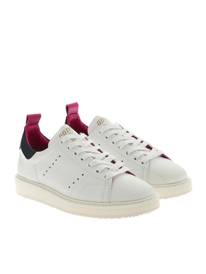 Golden Goose Deluxe Brand - Starter sneakers with blue and fucshia details