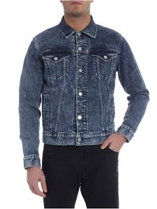 Givenchy - Blue denim jacket with patch pockets