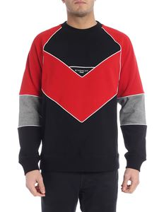 Givenchy - Givenchy V black and red sweatshirt